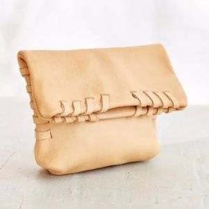 New Urban Outfitters Arden & James Leather Clutch